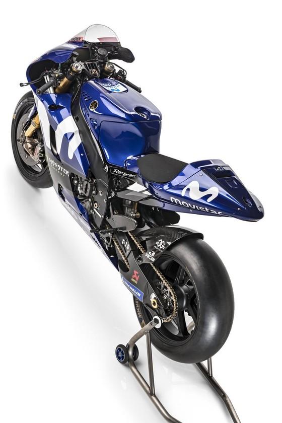 Đua xe mô tô: Yamaha giới thiệu mẫu xe đua mới YZR-M1 ảnh 5