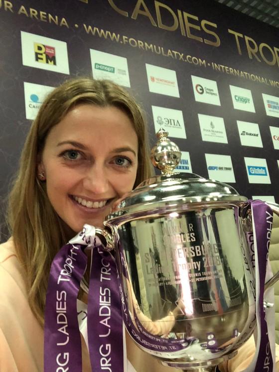 St.Petersbourg Ladies' Trophy 2018: Kvitova giành danh hiệu thứ 21 ảnh 1