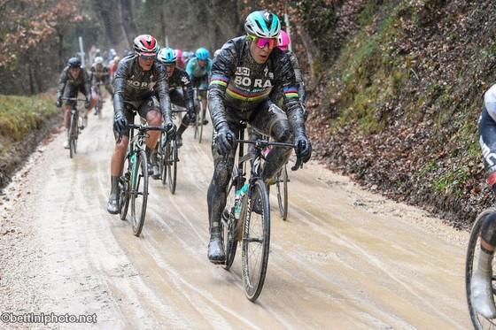 Xe đạp: Kinh hoàng đường đua ở Strade Bianchi ảnh 5