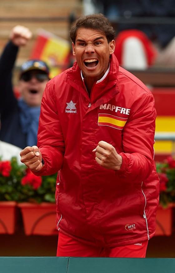Davis Cup 2018: Nadal, Ferrer đưa Tây Ban Nha vào bán kết ảnh 1