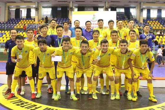 Quận 9 với lực lựng nòng cốt là các cầu thủ thuộc biên chế CLB Futsal Sài Gòn giành ngôi vô địch