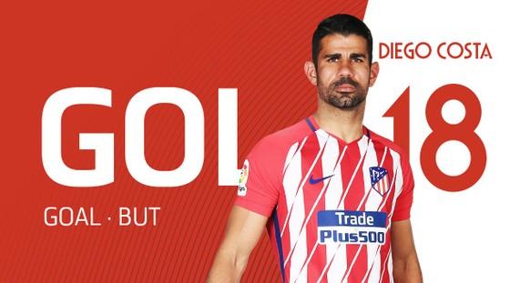 Tiếp tục diễn vai sát thủ của Pháo thủ, Diego Costa đưa Atletico và chung kết Champions League