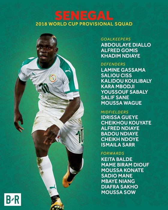 World Cup 2018: Các đội tuyển công bố DS cầu thủ ảnh 32