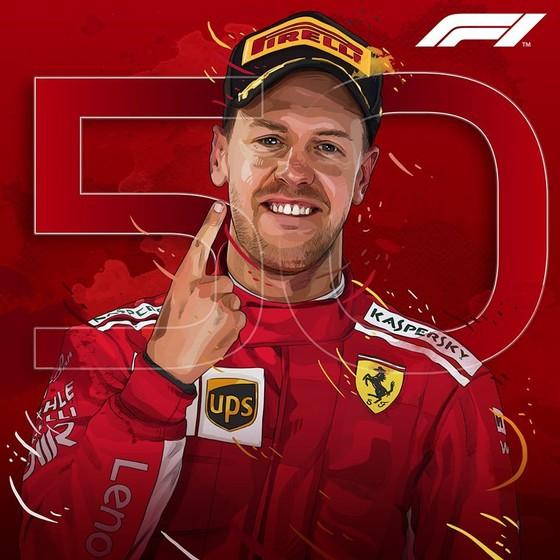 Đua xe F1: Lên ngôi tại Canada, Vettel giành chiến thắng thứ 4 trong mùa ảnh 2