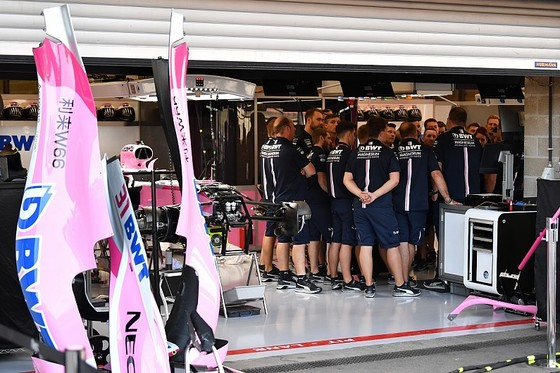 Đội đua mới Racing Point Force India đang họp kỹ thuật