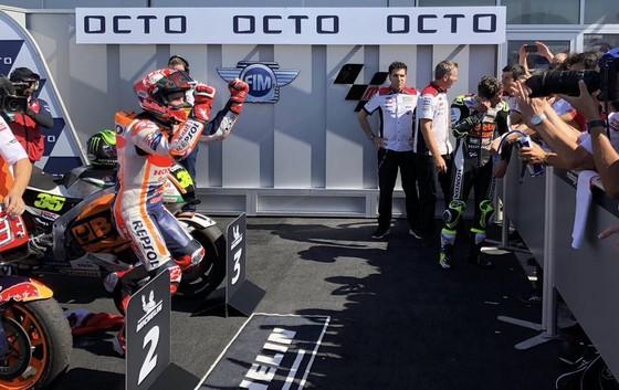 Đua xe mô tô: Đánh bại Marquez, Dovizioso giành chiến thắng ở Misano ảnh 4