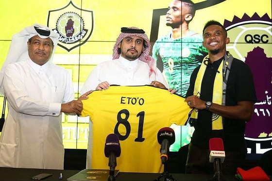 Samuel Eto'o: Ghi bàn đầu tiên cho Qatar SC ở QSL bằng… một pha đánh gót ảnh 3