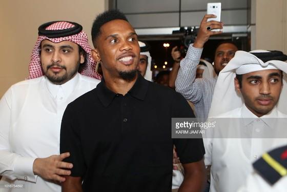 Samuel Eto'o: Ghi bàn đầu tiên cho Qatar SC ở QSL bằng… một pha đánh gót ảnh 1