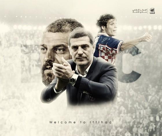 Hình ảnh chúc mừng Bilic đến với Al-Ittihad