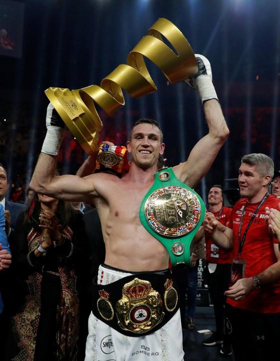 Quyền Anh: Groves mất đai WBA hạng siêu trung vì thua knock-out ảnh 1