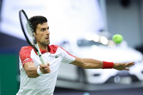Novak Djokovic đang có phong độ cực cao ở Shanghai Masters