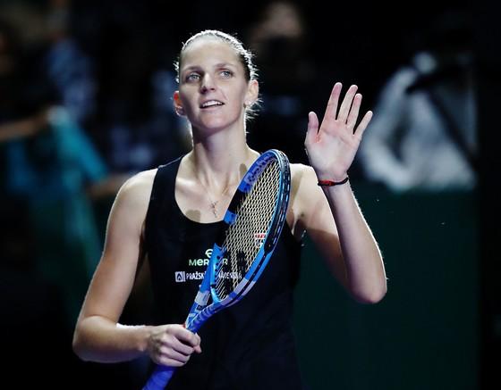 WTA Finals 2018: Toàn thắng 3 trận, Svitolina vào bán kết cùng với Pliskova ảnh 2