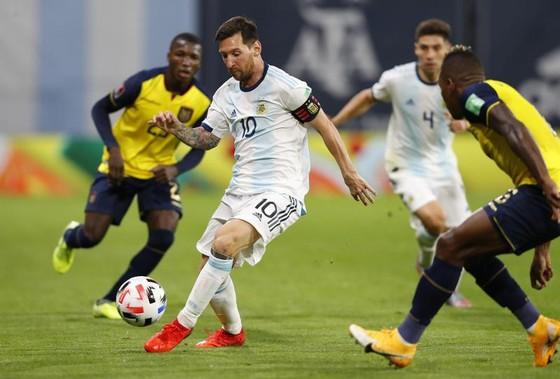 M10 trong màu áo tuyển Argentina