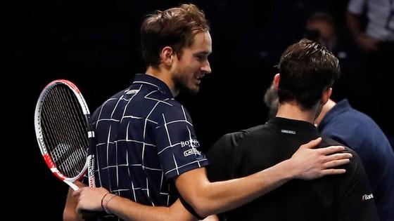 """Daniil Medvedev: """"Kẻ thừa kế"""" Davydenko đánh bại Nadal và Thiem để vô địch ATP Finals 2020 ảnh 3"""