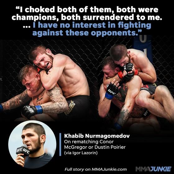 """Khabib Nurmagomedov: Sẽ quay lại nhưng """"chỉ vì tiền"""" - 100 triệu USD, sẽ cân nhắc cách hành xử với Conor McGregor ảnh 2"""