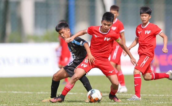 Giải bóng đá thiếu niên U13 Việt Nam - Nhật Bản lần 3-2020: Nỗ lực tuyệt vời vượt qua dịch Covid-19 ảnh 7