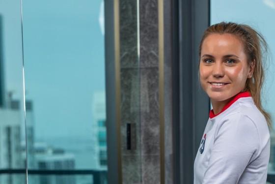 ĐKVĐ Australian Open - Mỹ nhân gốc Nga Sofia Kenin: Không được TFM gia hạn hợp đồng, vẫn tươi tắn chuẩn bị mùa giải mới ảnh 4