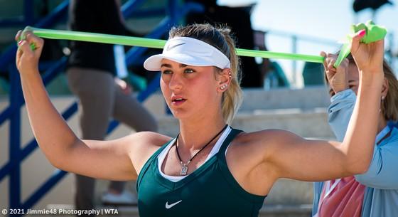 "Kết quả Abu Dhabi Open (mới cập nhật) - Sakkari ""lật đổ"" Kenin, Kudermetova loại Svitolina ảnh 4"