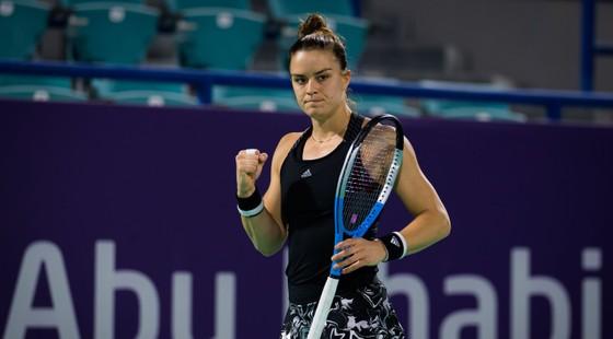 Kết quả Abu Dhabi Open (10-1-2021) - Sofia Kenin và Elina Svitolina chật vật vào tứ kết ảnh 2