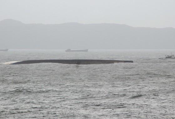 Bình Định yêu cầu chủ tàu khẩn trương trục vớt các tàu hàng bị chìm  ảnh 3