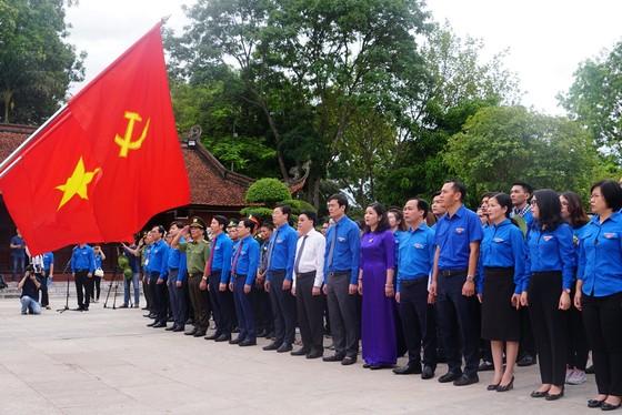 Thanh niên tiên tiến cả nước báo công dâng Bác tại Khu di tích Kim Liên ảnh 1