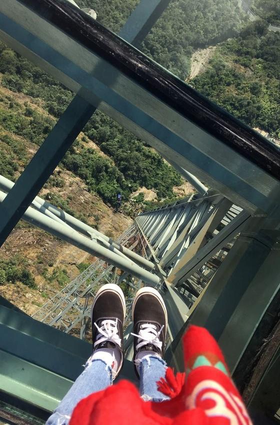 越南最高玻璃橋投入運營 ảnh 2