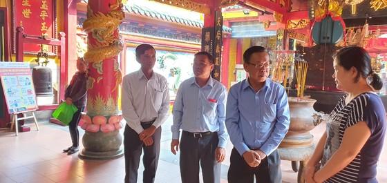 市委民運處領導拜訪各華人會館 ảnh 1