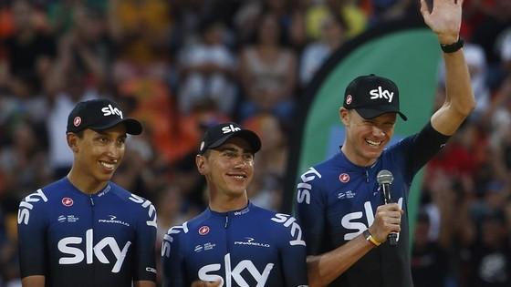 Xe đạp: Chris Froome choáng ngợp với sự tiếp đón ở Tour Colombia ảnh 7