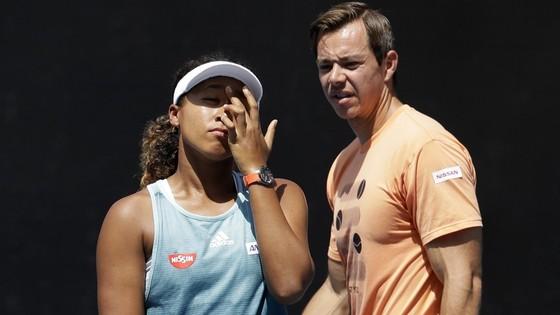 Naomi Osaka và Sascha Bajin