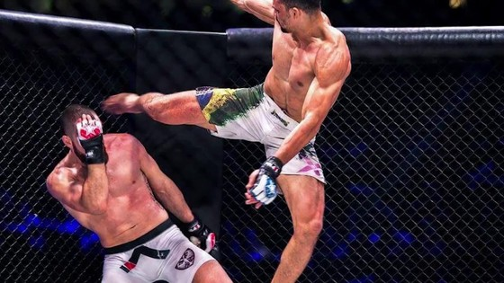 Đấu trường MMA: Bay lộn như phim kungfu Trung Quốc, võ sĩ Brazil thống trị Nhật – Hàn  ảnh 6