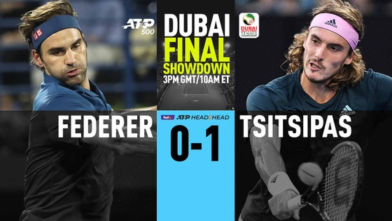 Federer đại chiến Tsitsipas