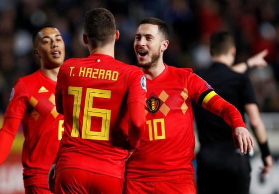 Eden Hazard: Ghi bàn thắng thứ 30 trong trận đấu thứ 100 cho tuyển Bỉ ảnh 1