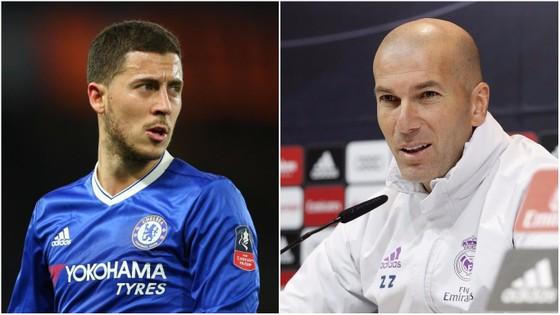 Hazard nhiều lần thể hiện sự ngưỡng mộ dành cho Zidane