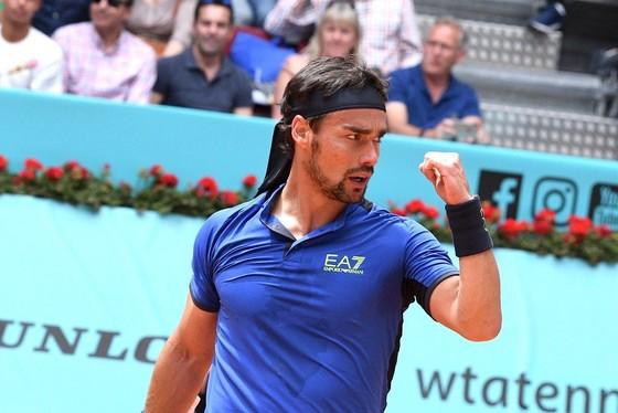 """Madrid Open: Nadal, Fognini thi nhau """"bắn hạ"""" đối thủ chỉ sau 2 ván đấu ảnh 1"""