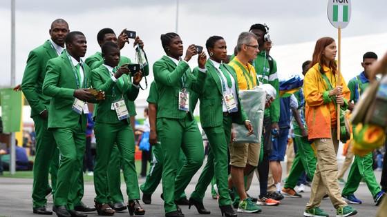 Các VĐV Nigeria ở một kỳ giải Olympic