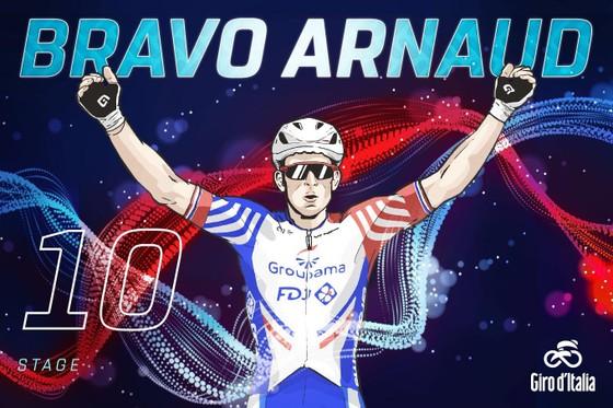 Giro d'Italia: Ackermann ngã xe nặng, để Demare thắng chặng 10, Áo tím lâm nguy ảnh 4