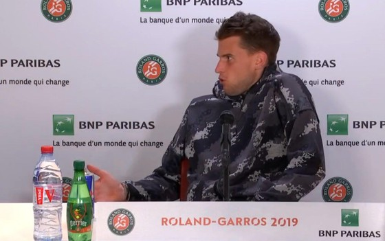 """Roland Garros: Serena """"hết thời"""" vẫn tranh phòng họp với Dominic Thiem ảnh 2"""