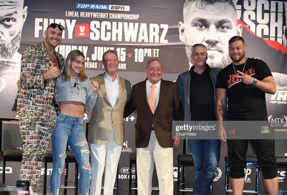 Quyền Anh: Buổi họp báo trận Fury - Schwarz diễn ra như… show tấu hài ảnh 7