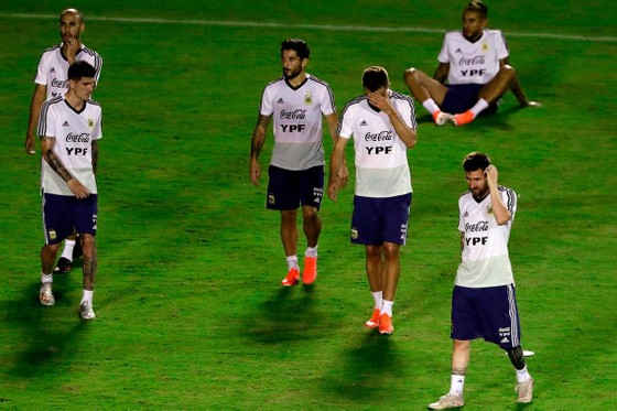 "Argentina - Colombia: Ông Scaloni sẽ chơi với ""mũi đinh ba"" Messi - Aguero - Di Maria ảnh 5"