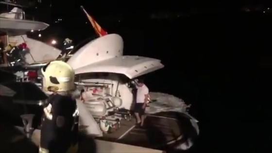 Wladimir Klitschko suýt chết ở Mallorca: Du thuyền bốc cháy, lực lượng phòng vệ bờ biển giải cứu ảnh 1
