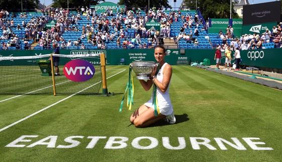 Kvitova vô địch Eastbourne International