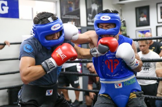 """Quyền Anh: Pacquiao dốc toàn lực cho """"trận đấu của cuộc đời"""" với Thurman ảnh 4"""