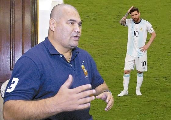 Chilavert vừa lên tiếng bảo vệ Messi