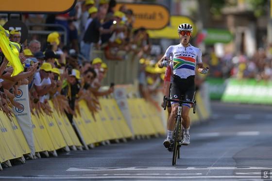 """Tour de France: Chiến thắng """"trong mơ"""" của Impey, Mitchelton-Scott và xe đạp Nam Phi ảnh 2"""