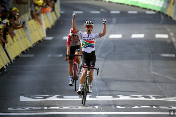 """Tour de France: Chiến thắng """"trong mơ"""" của Impey, Mitchelton-Scott và xe đạp Nam Phi ảnh 1"""