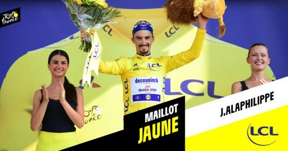 Tour de France: Ewan lần thứ 2 thắng chặng, Alaphilippe vẫn giữ cách biệt ảnh 6