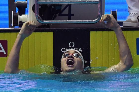 Giải bơi lội VĐTG: Kình ngư 19 tuổi người Hungary phá kỷ lục thế giới 10 năm tuổi của Michael Phelps ảnh 2