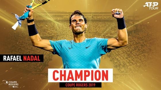 """Rogers Cup: Nadal """"giáo huấn"""" Medvedev, giành danh hiệu Masters 1.000 thứ 35 ảnh 2"""