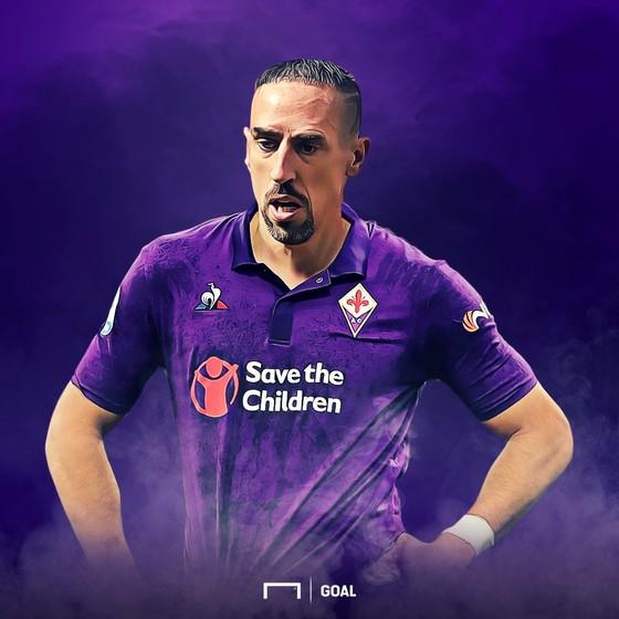 """Hình ảnh cực ngầu của """"Gã mặt sẹo"""" Ribery khi trở thành người của Đoàn quân Áo tím Fiorentina ảnh 6"""