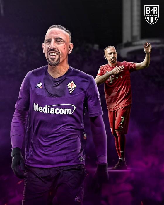 """Hình ảnh cực ngầu của """"Gã mặt sẹo"""" Ribery khi trở thành người của Đoàn quân Áo tím Fiorentina ảnh 5"""